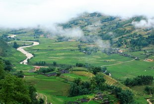 Valley in Sapa