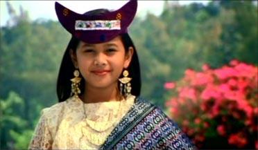 A charming Timor girl