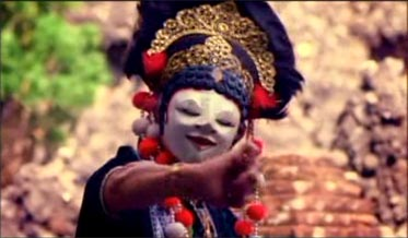 Queen of Mask Dance from Cirebon