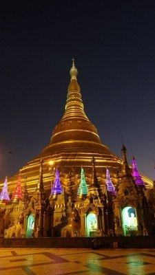 Shwedagon Paya by night