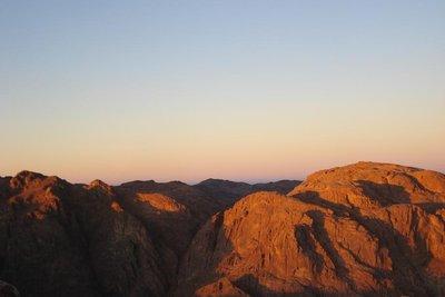 Aussicht vom Mt. Sinai