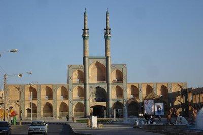Chaq Maq - Hauptsehenswuerdigkeit in Yazd