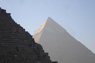 Chephren-Pyramide in Giza