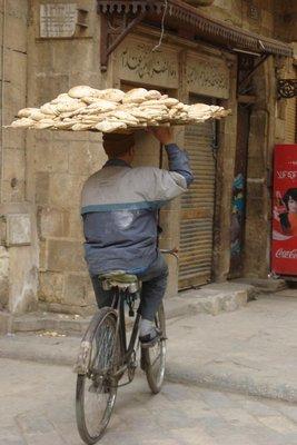 Fahrradkunst in Kairo
