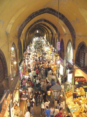 Grosser Bazaar in Instanbul