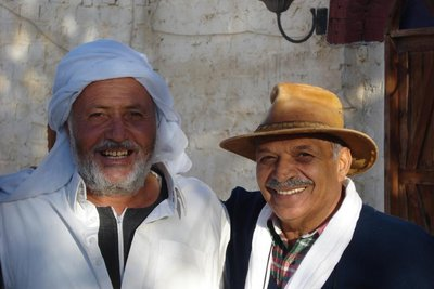 Hany mit seinem Freund und Nachbarn