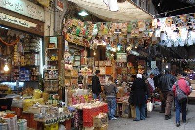 Im Souk von Damaskus
