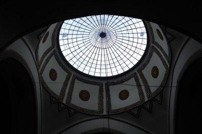 Innenansicht einer Moschee in Bursa
