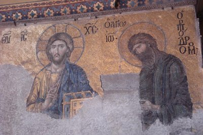 Mosaik in der Aya Sofia