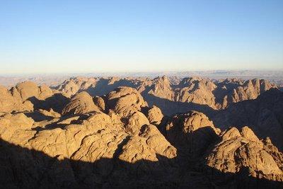 Mt. Sinai - Moses habe hier die 10 Gebote empfangen