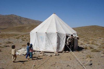 Nomadenschule von aussen