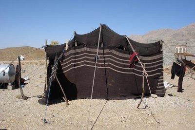 Nomadenzelt von aussen