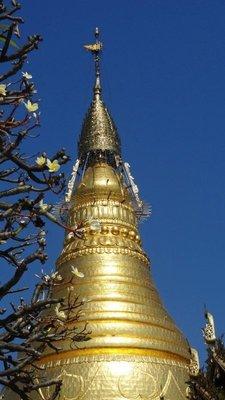 Stupa in Sagaing
