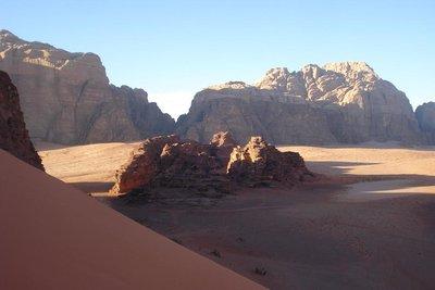 Wadi Rum im Abendlicht
