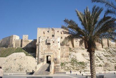 Zitadelle Aleppo Kreuzritterburg