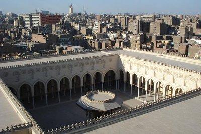 auf dem Dach der Bab Zuweila Moschee