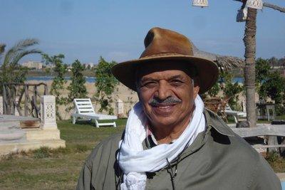der stolze Besitzer - Ex-General Hany El Kamouny