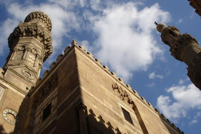 die Al-Azhar Moschee im Islamic Cairo
