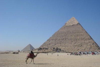die Pyramiden von Giza