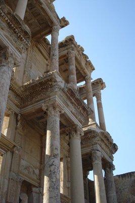die grosse Bibliothek von Ephesus