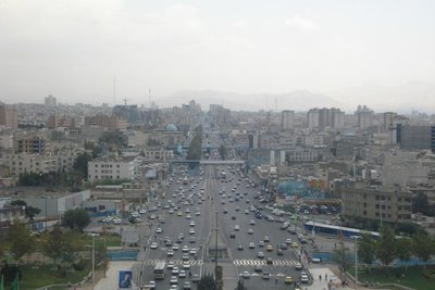 ein Boulevard in Teheran
