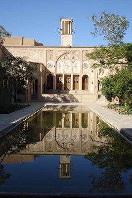 einer der zahlreichen Palaeste in Kashan