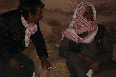 gute Stimmung in der Beduinenrunde