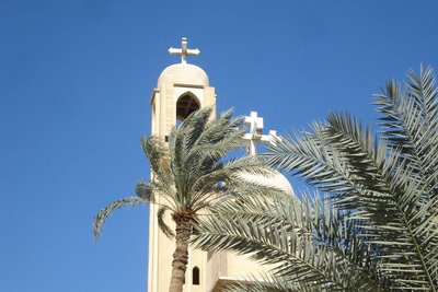 koptische Kirche in Wadi Natrun