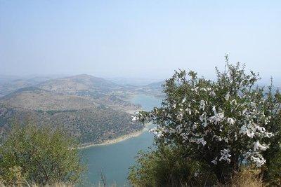 mit Blick vom Akropolis