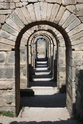 römische Torbogen