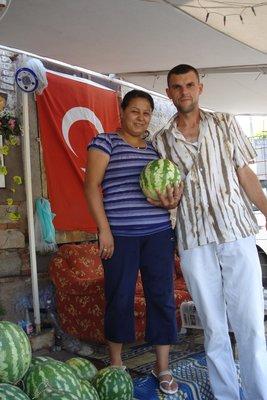 supergute und frische Melonen
