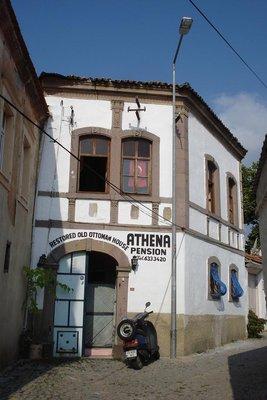 unsere gemütliche Unterkunft - Pension Athena
