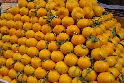 zuckersuesse und saftige Clementinen