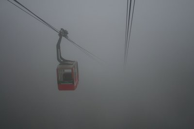 The cable car to nowhere