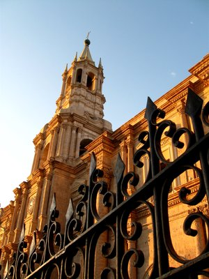 Catedral in Arequipa, Peru