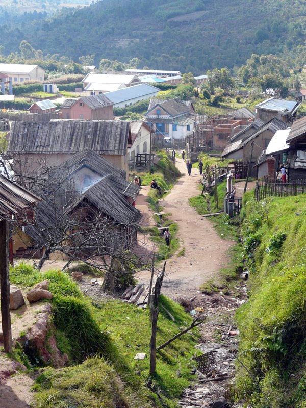 Village in the mountain