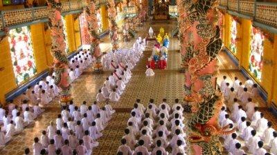 Saigon_Cao Dai temple4