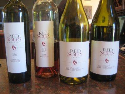 Red Soles - wine