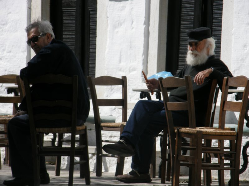 True Greek locals