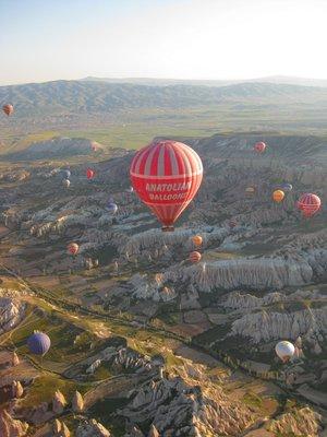 Opening ballooning