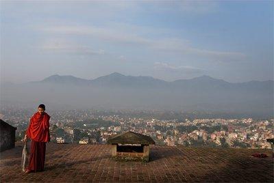 Monk in Kathamdu