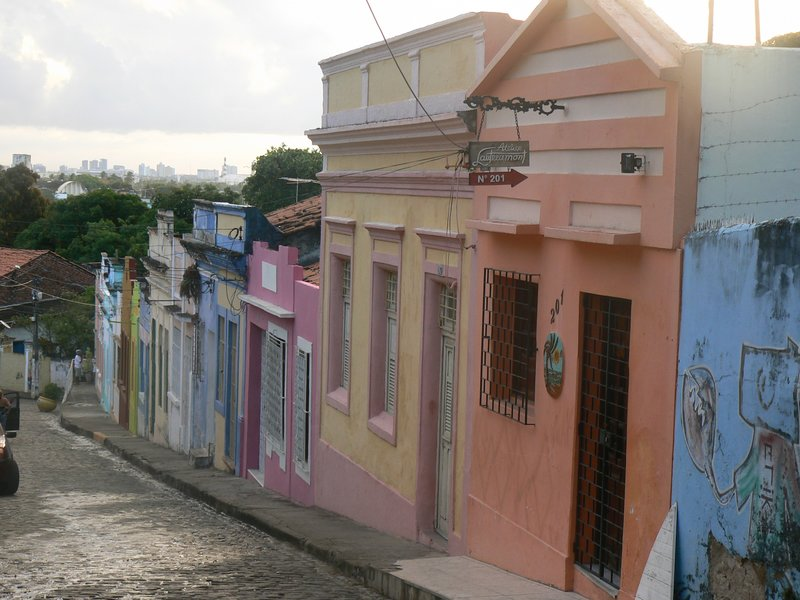 Colourful Houses In Olinda