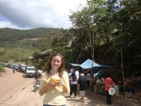 Coconut Water at Huallaga River