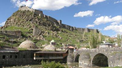 Tasköprü Kars Kalesi, Kars, Turkey