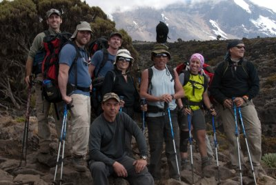 The group on day three.