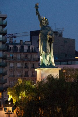 Paris' Statue of Liberty