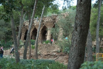 Gaudi's Park de Guell.