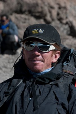 """Miguel a.k.a. """"Colorado"""" for his red hair and sun burnt face. He and Mariano are professional mountain guides in Cordoba, Argentina, for a company called Alto Rumbo (http://www.champaqui.com.ar)."""