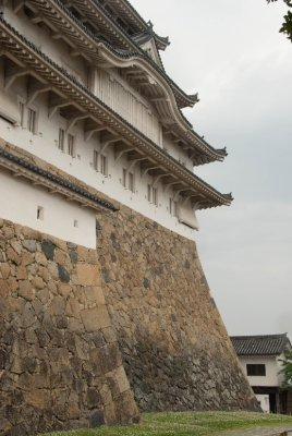 The Himeji castle is one of the few castles that survived WWII bombings.
