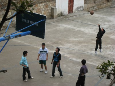 Forget rugby, futbol and cricket, the Chinese like to play basketball. Chinese men and women are generally much taller and heavier than people from other Asian countries.